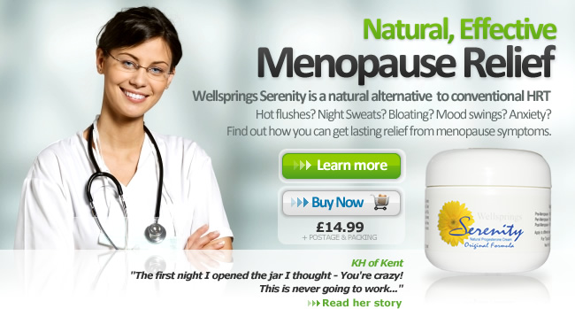 menopause and natural progesterone essay