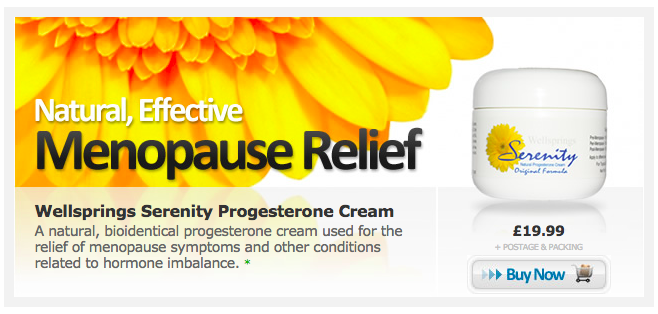 How To Use Serenity Natural Progesterone Cream